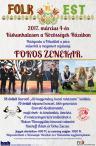 Folk est Kiskunhalason a Fokos zenekarral
